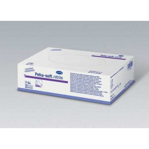 GUANTE NITRILO WHITE S PEHA-SOFT S/P 200UD
